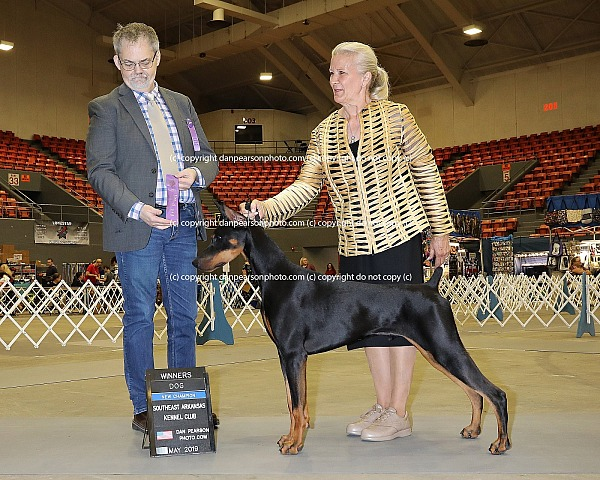 Southeast Arkansas Kennel Club 1 Saturday May 25, 2019